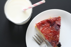 Berry Upside-down cake 1
