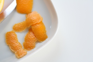 Orange zest 1