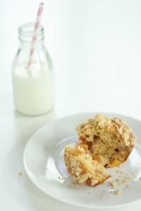 Nectarine muffins 6