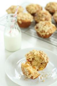 Nectarine muffins 4
