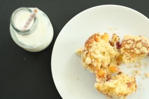 Nectarine muffins 1