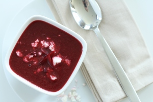 Beetroot soup 1