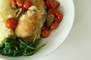 Baked chicken 5