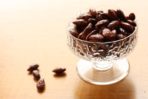 Honey Spiced Almonds 1