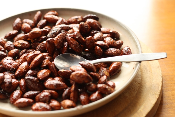 Honey Spiced Almonds 5