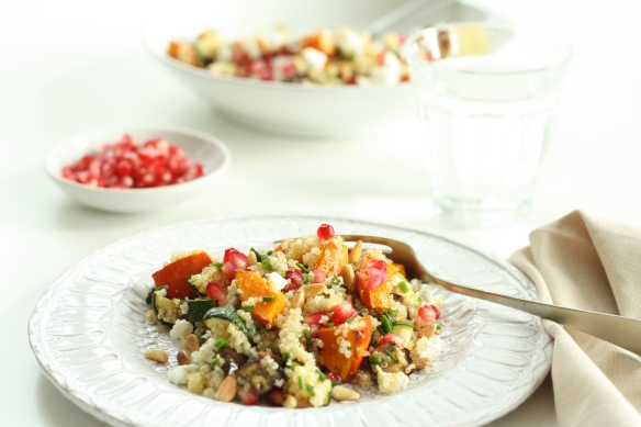 Roasted Vegetable & Feta Quinoa