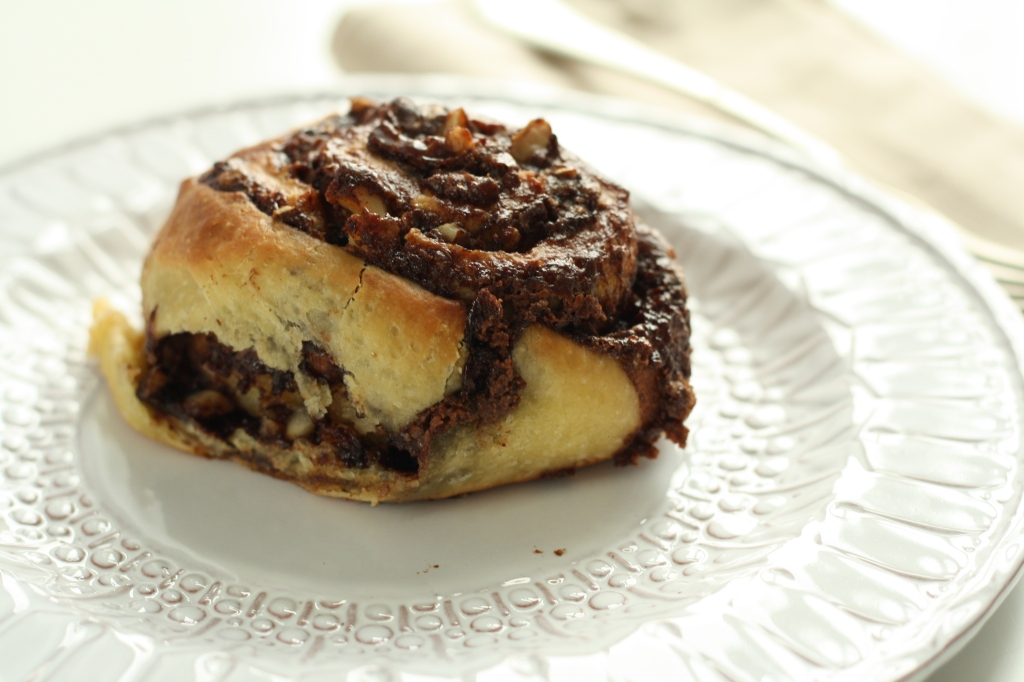 Chocolate Hazelnut Buns 2