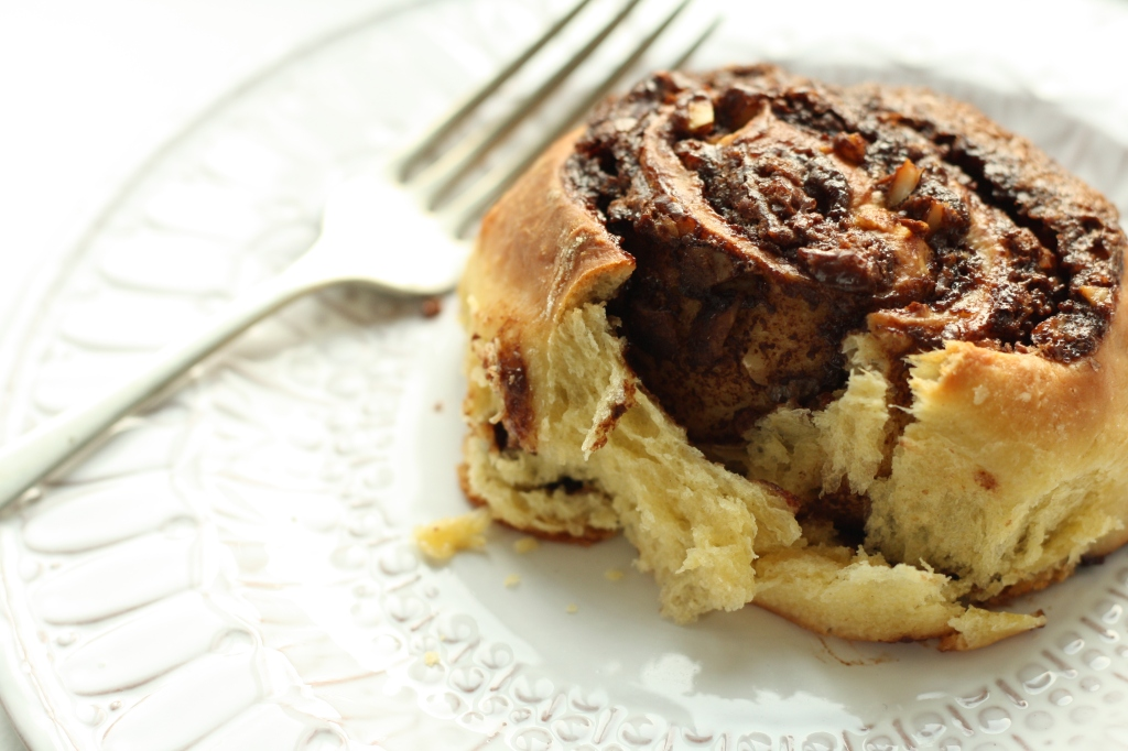 Chocolate Hazelnut Buns 10