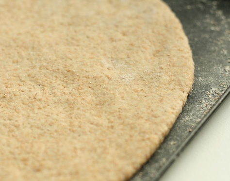 Spelt crust pizza 4