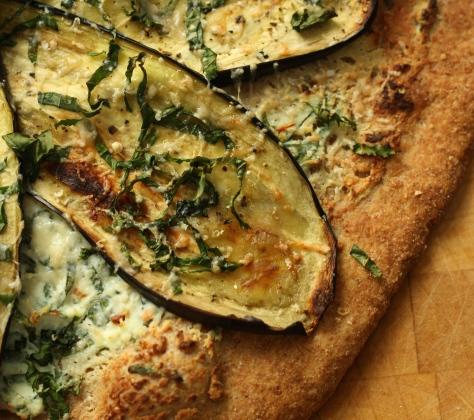 Spelt crust pizza 7