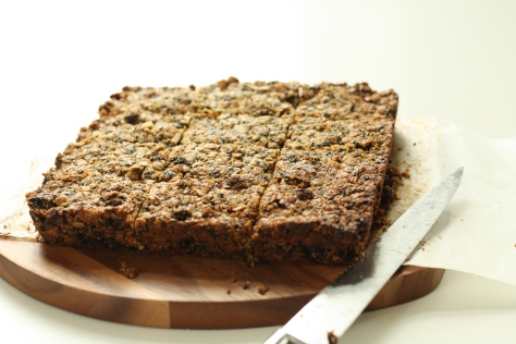 Ginger, chocolate flapjacks 6