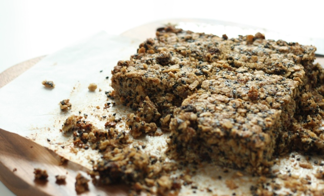 Ginger, chocolate flapjacks 10