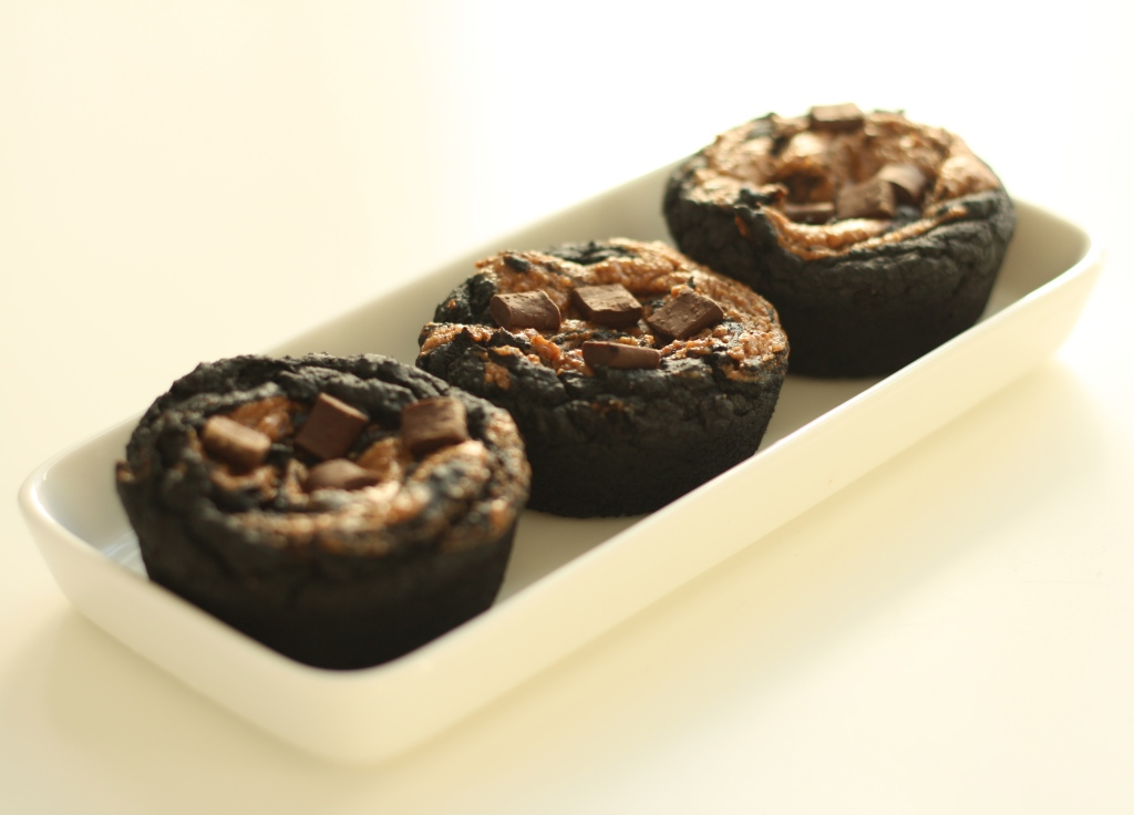 Vegan gluten free black bean brownies 4