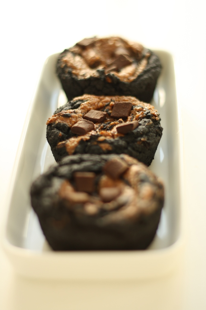 Vegan gluten free black bean brownies 5