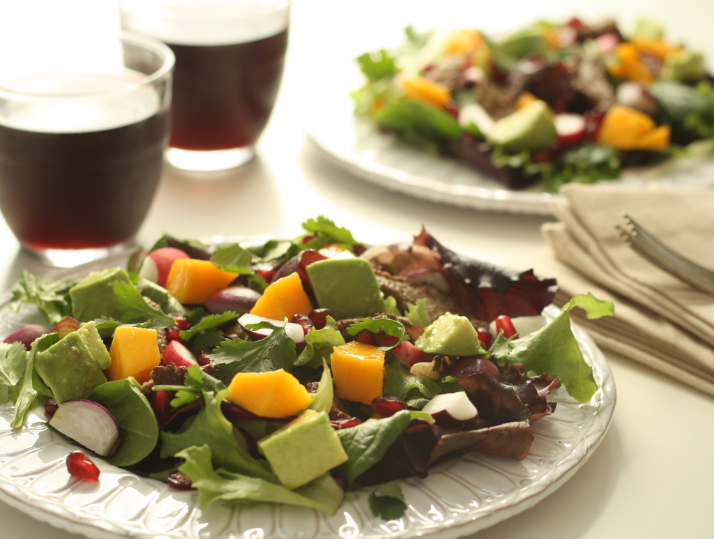 Duck salad 1
