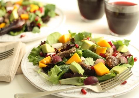 Duck salad 6