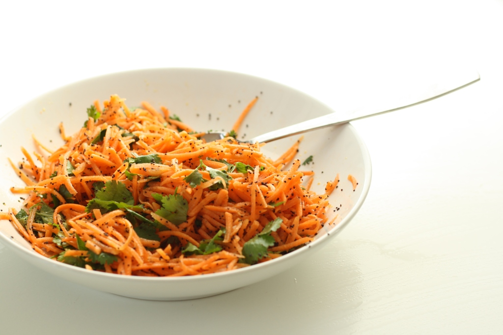 Carrot coriander salad 1