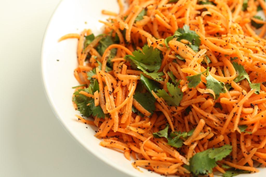 Carrot coriander salad 3