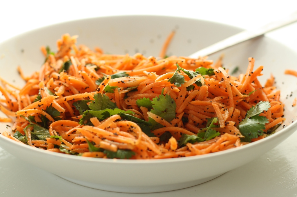 Carrot coriander salad 2