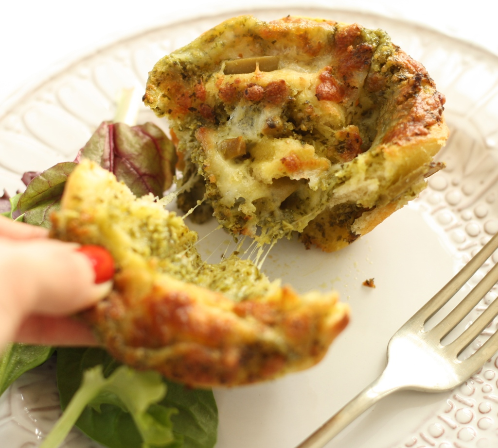 Kale Pesto Pizza Rolls 6