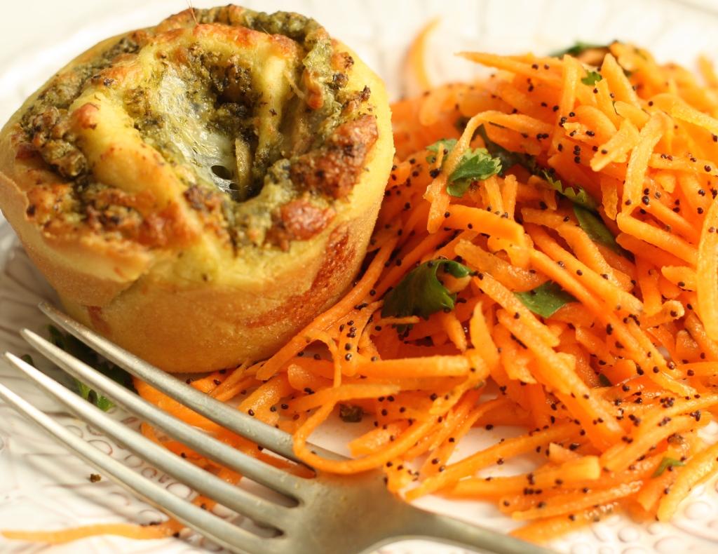 Carrot coriander salad 4