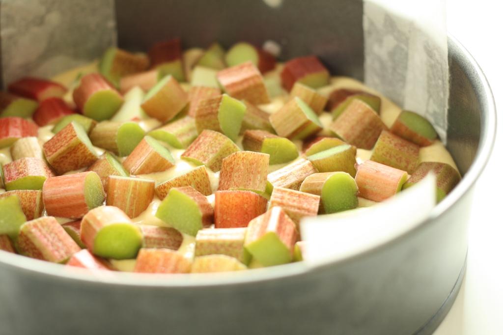 Rhubarb Cardamom Cake 3