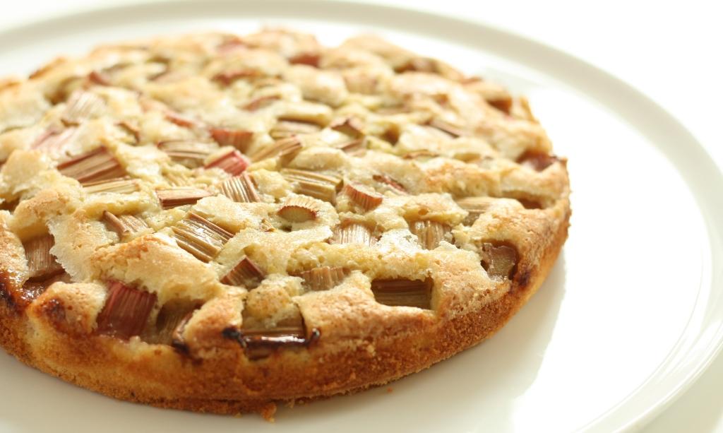 Rhubarb Cardamom Cake 4