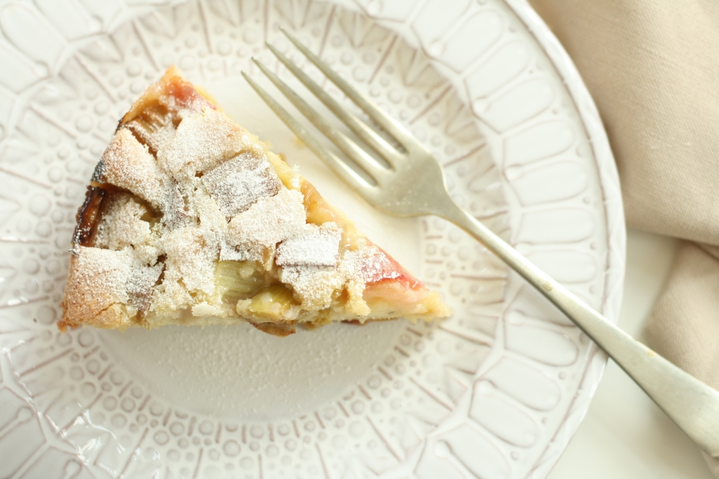 Rhubarb Cardamom Cake 10