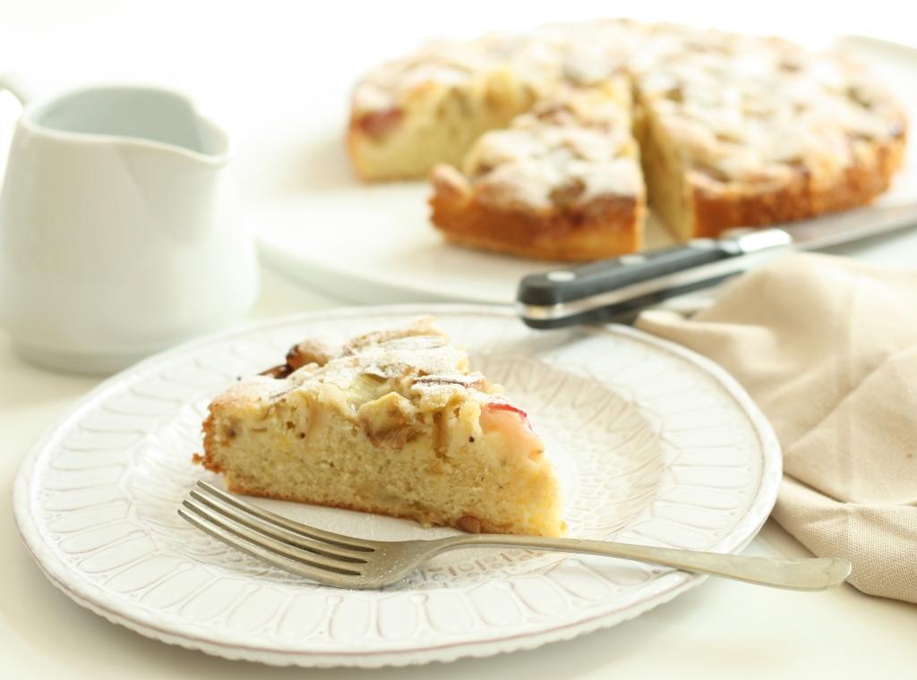 Rhubarb Cardamom Cake 6