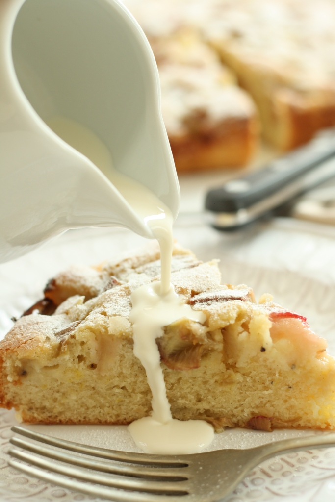 Rhubarb Cardamom Cake 2