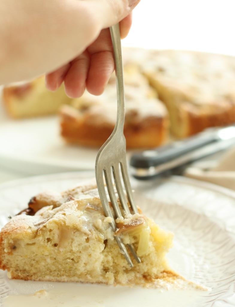 Rhubarb Cardamom Cake 8