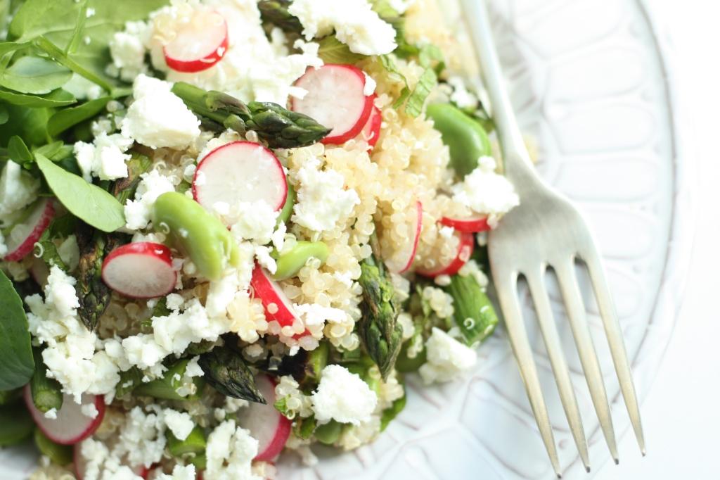 Spring Veg Quinoa 2