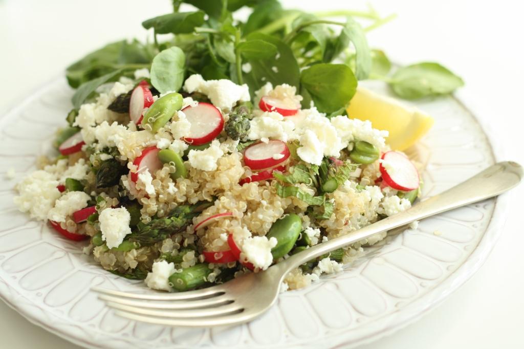 Spring Veg Quinoa 5