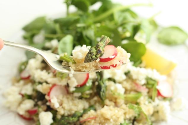Spring Veg Quinoa 3