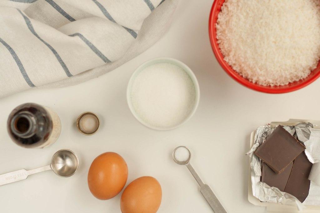 Coconut Macaroons Ingredients