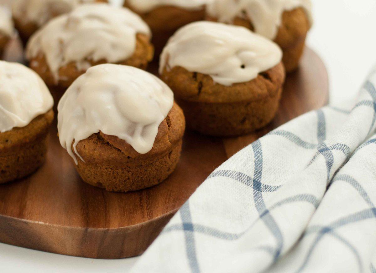 Pumpkin muffins 1