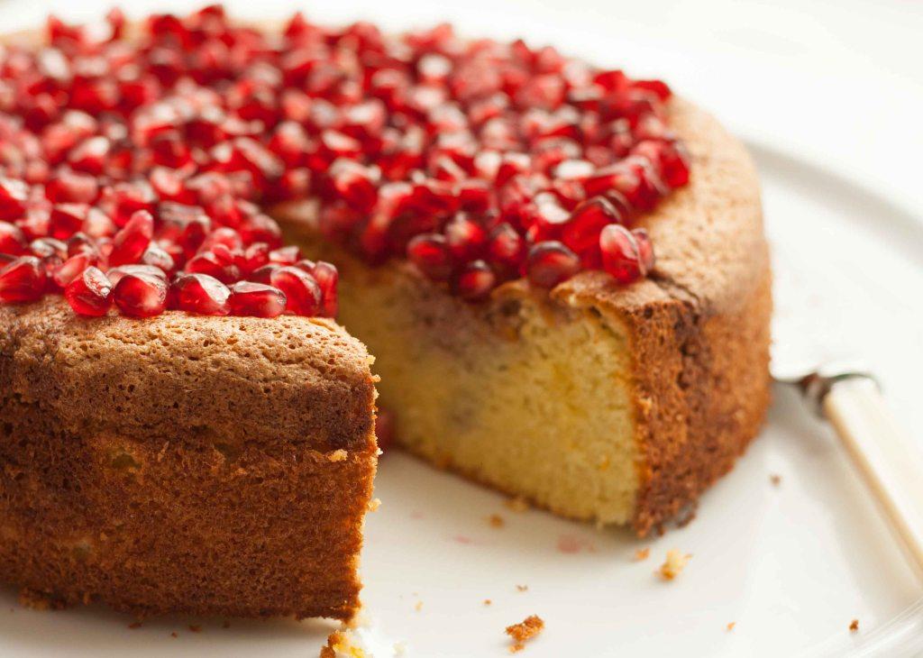 Pomegranate Cake 5