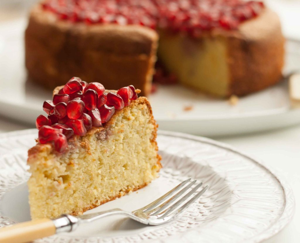 Pomegranate Cake 6