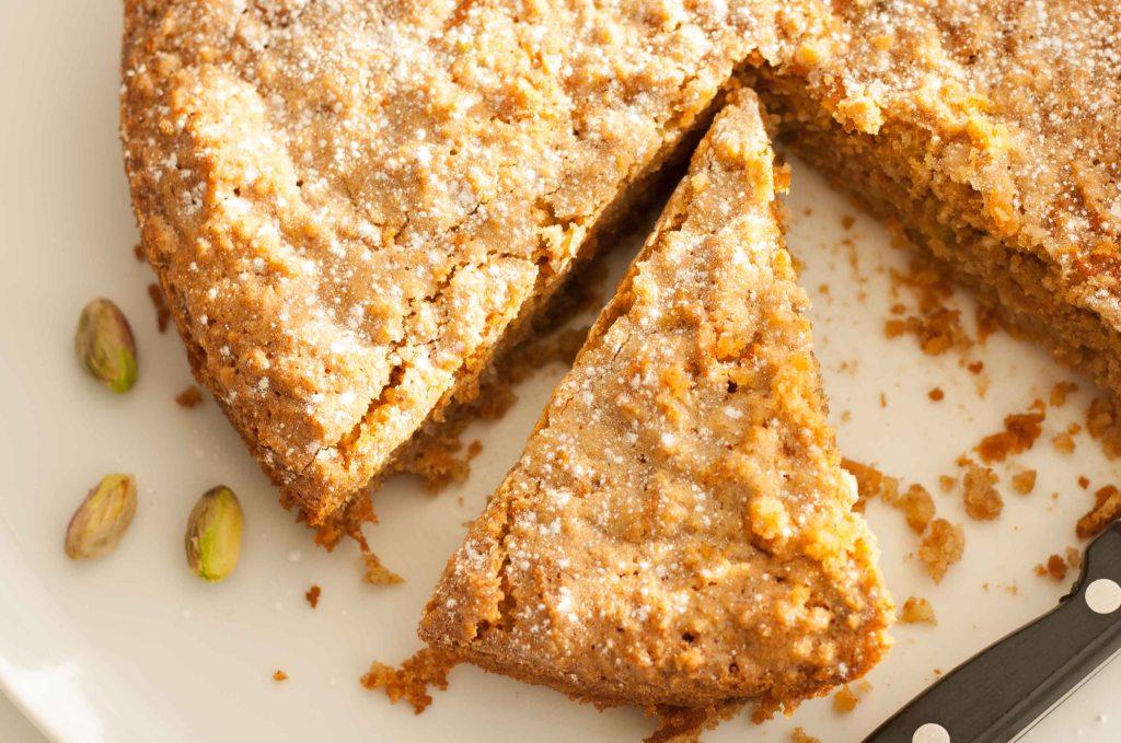 Gluten Free Carrot Almond Cake 5