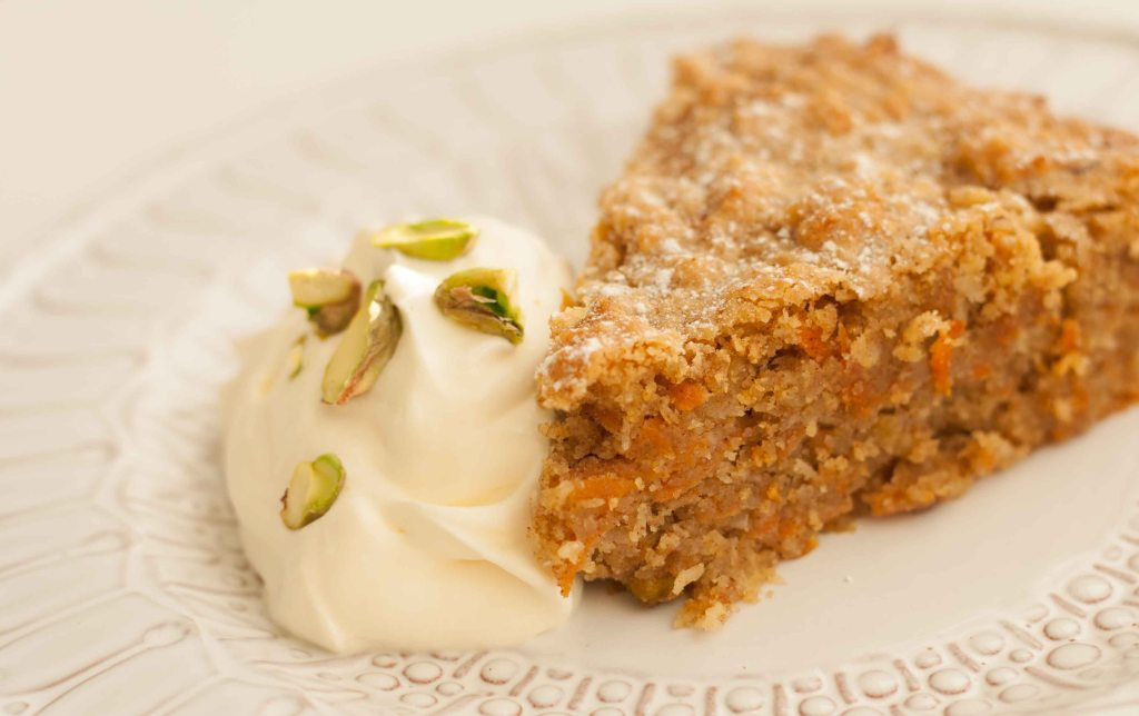 Gluten Free Carrot Almond Cake 7