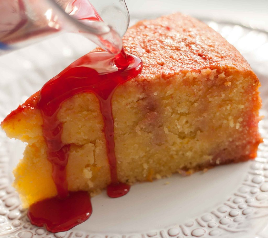 Blood Orange & Campari Cake 4