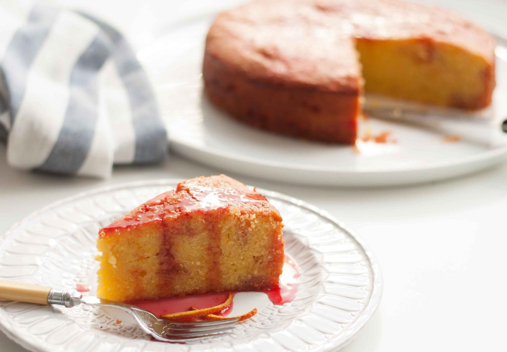 Blood Orange & Campari Cake 5