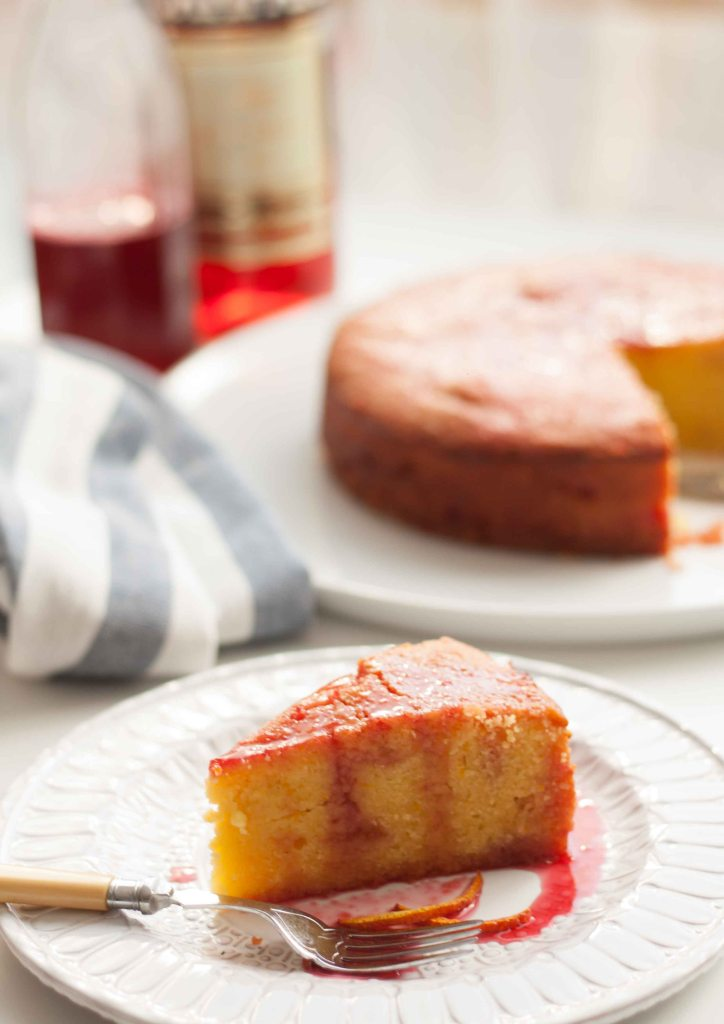 Blood Orange & Campari Cake 6