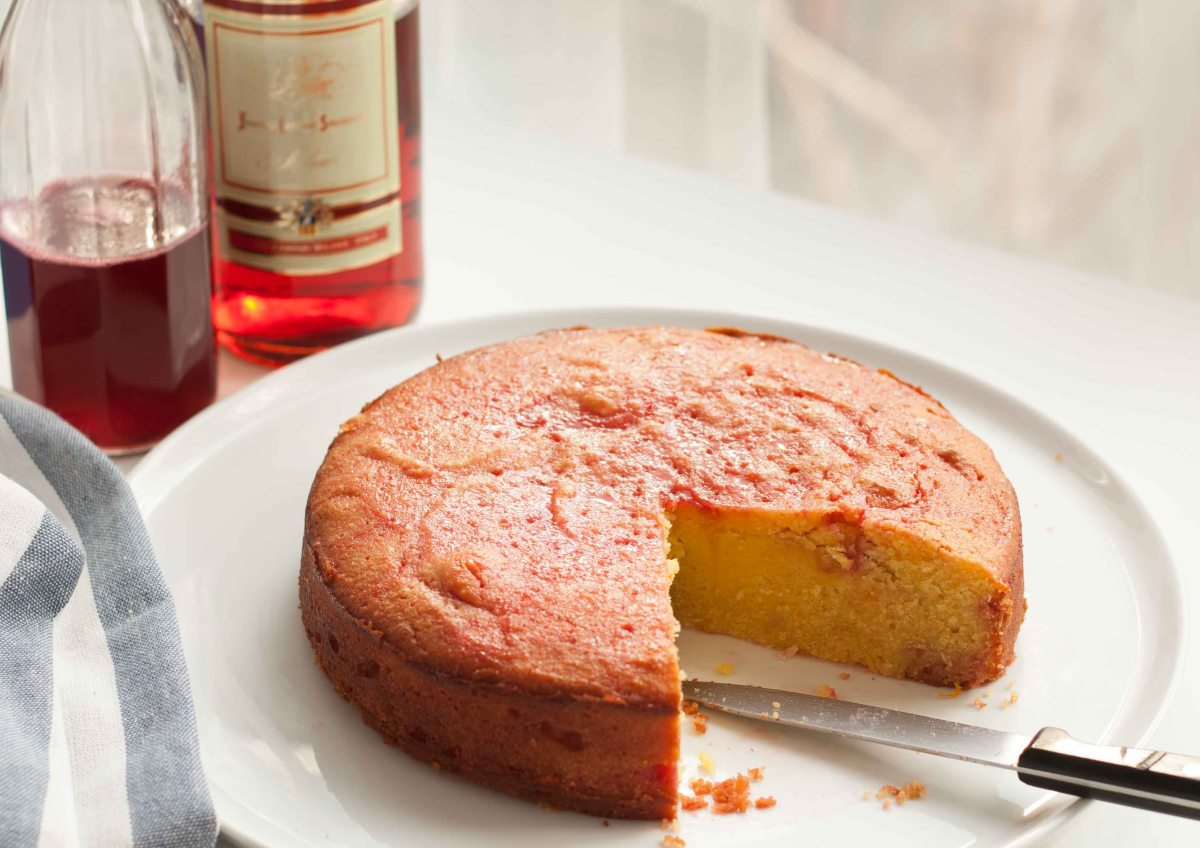 Blood Orange & Campari Cake (Gluten Free)