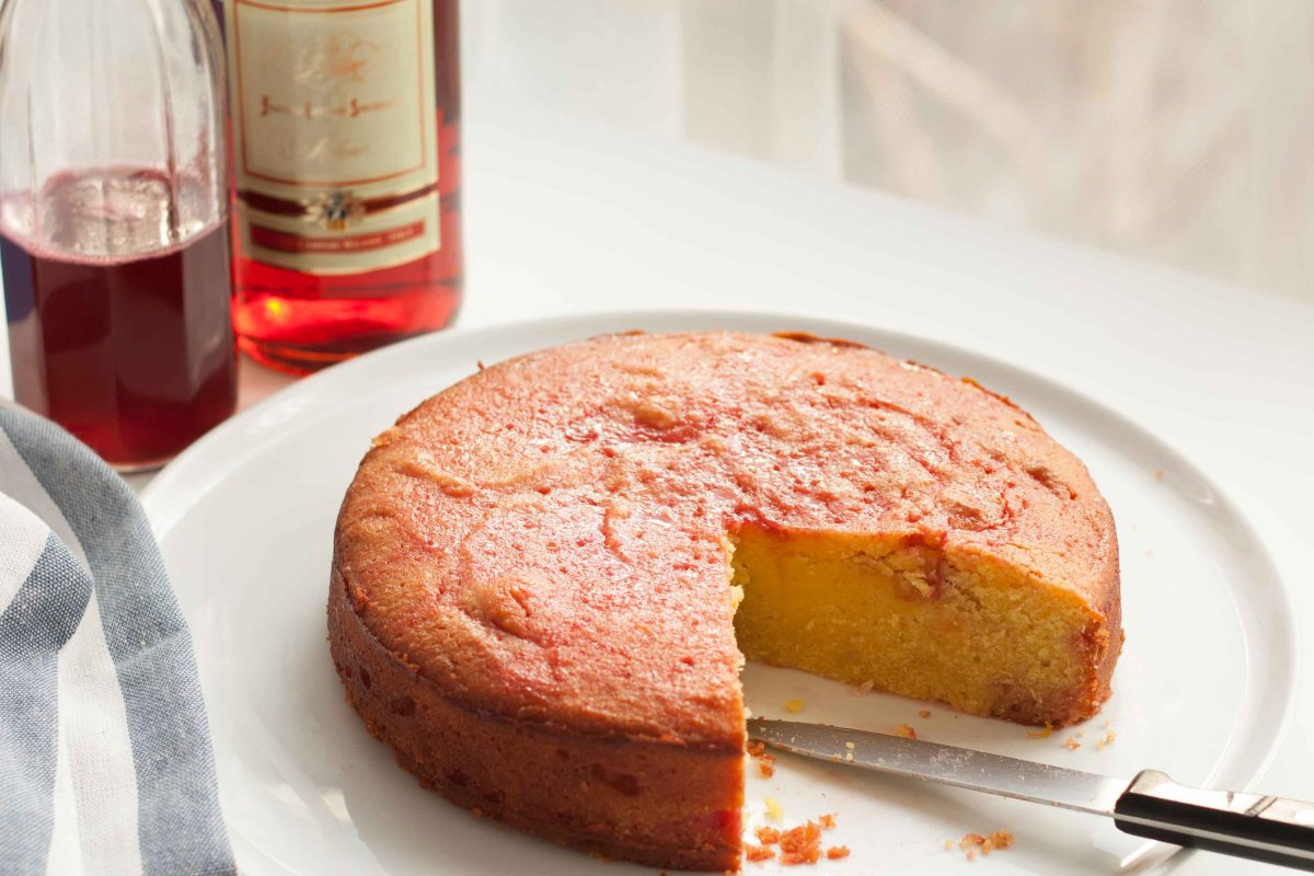 Blood Orange & Campari Cake 7