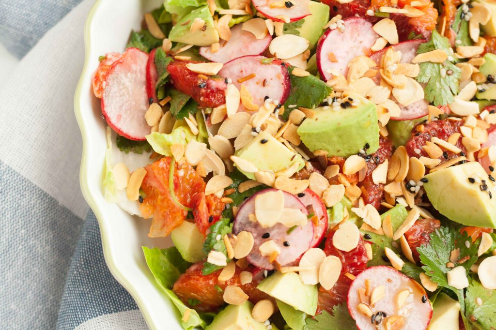Blood orange salad 3