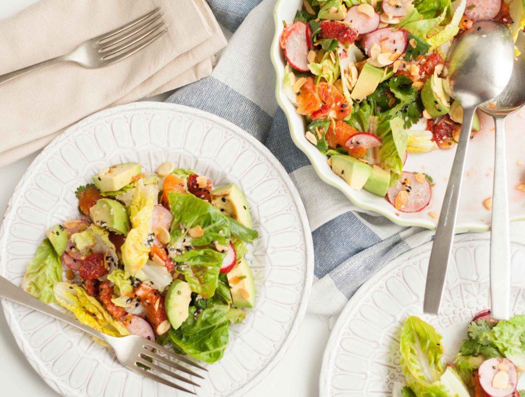 Blood orange salad 4
