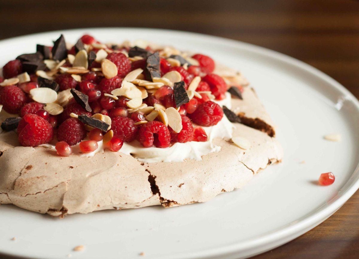 Raspberry Chocolate Pavlova 3